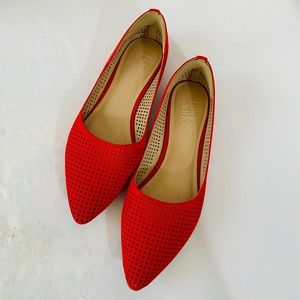 Franco Sarto RED Hazeline 2 Perforated POINTED TOE